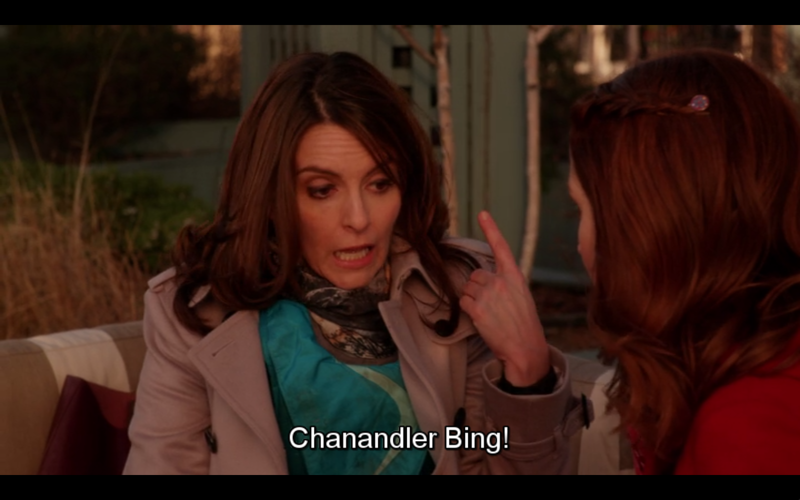 Chandler would say: actually, it's Miss Chanandler Bong XD
