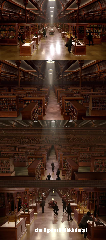 che figata di biblioteca!!!