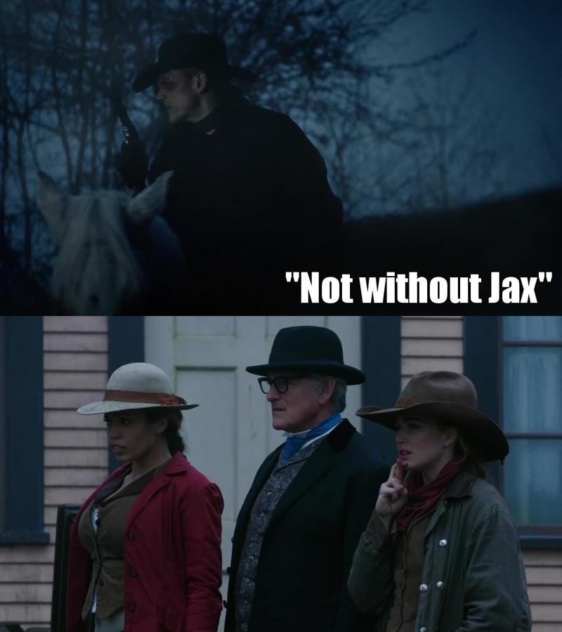 it's so cute how Snart and Sara care about the team