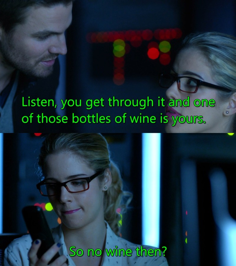 Poor Felicity, cracked the encryption but didn't get the promised reward.