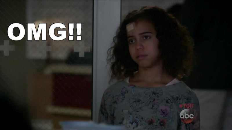 Give her a regular role somewhere!!! What an amazing little actress...