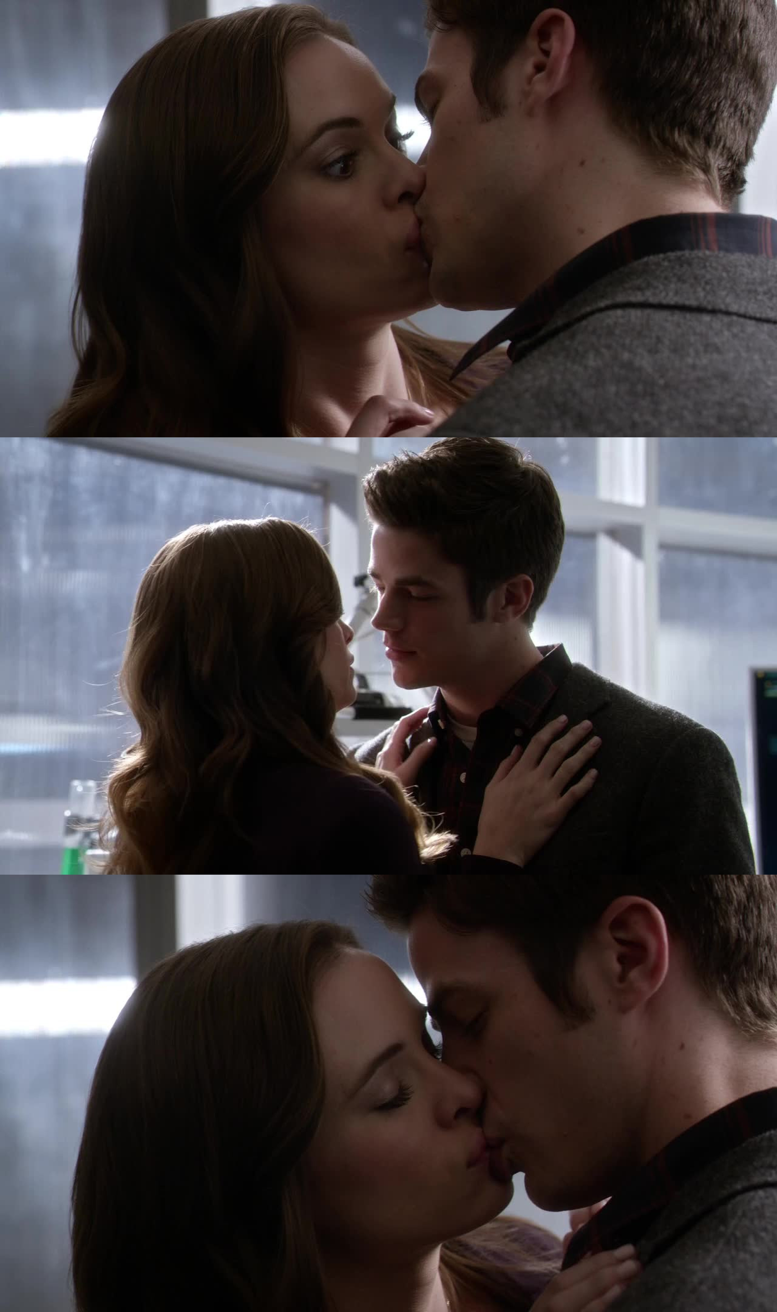 Not a real snowbarry's kiss,  I'm so disappointed :(