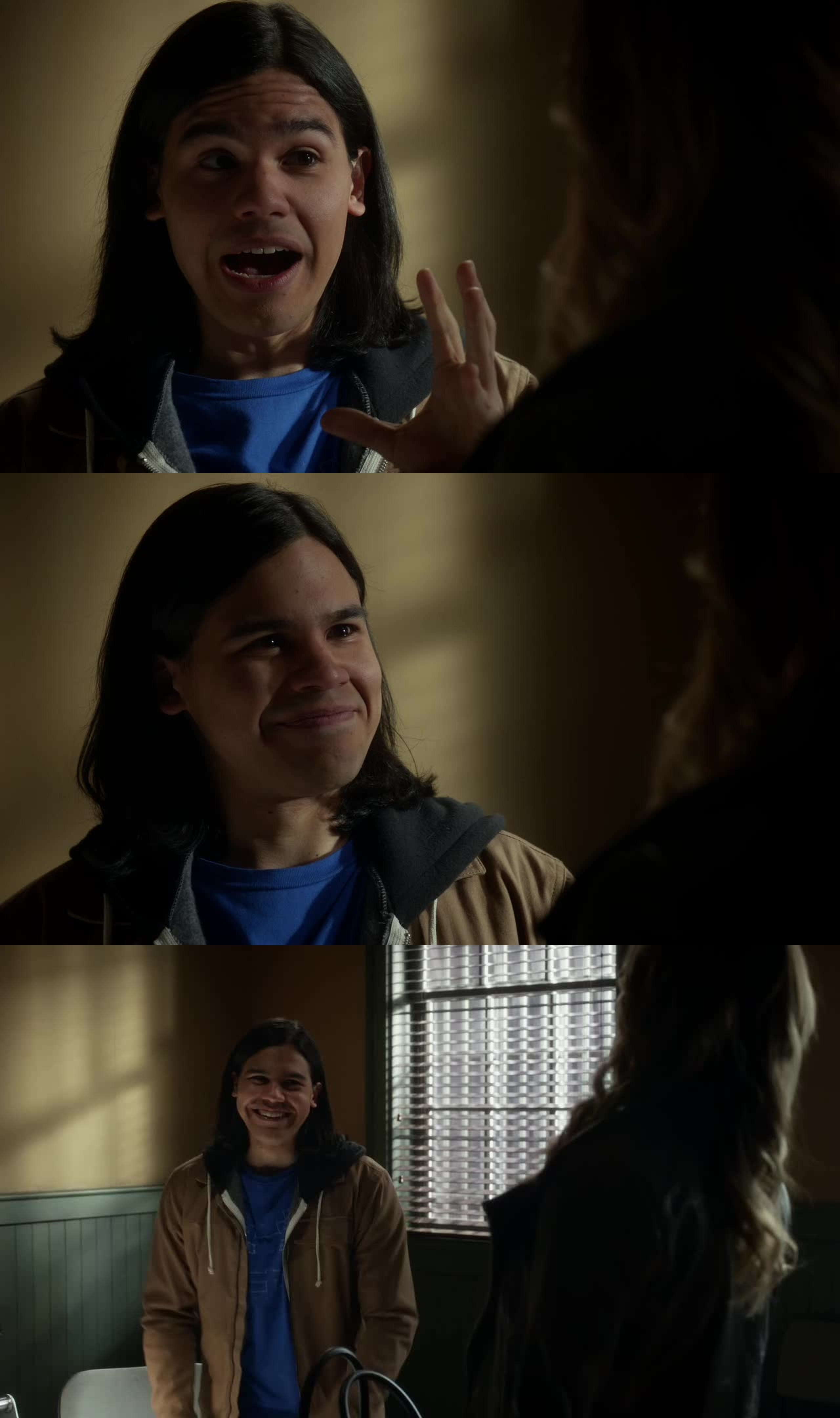 Haha! I love Cisco fangirling over learning who the Black Canary. I Love his face!