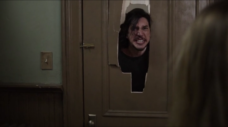 I was dead at this moment #TheShining 😂😂😂