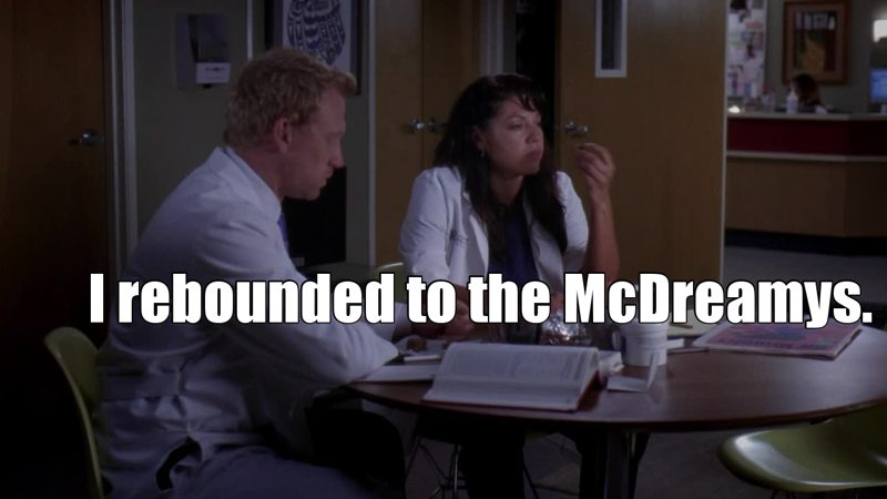 I love Callie being one of the biggest fan of MerDer XD