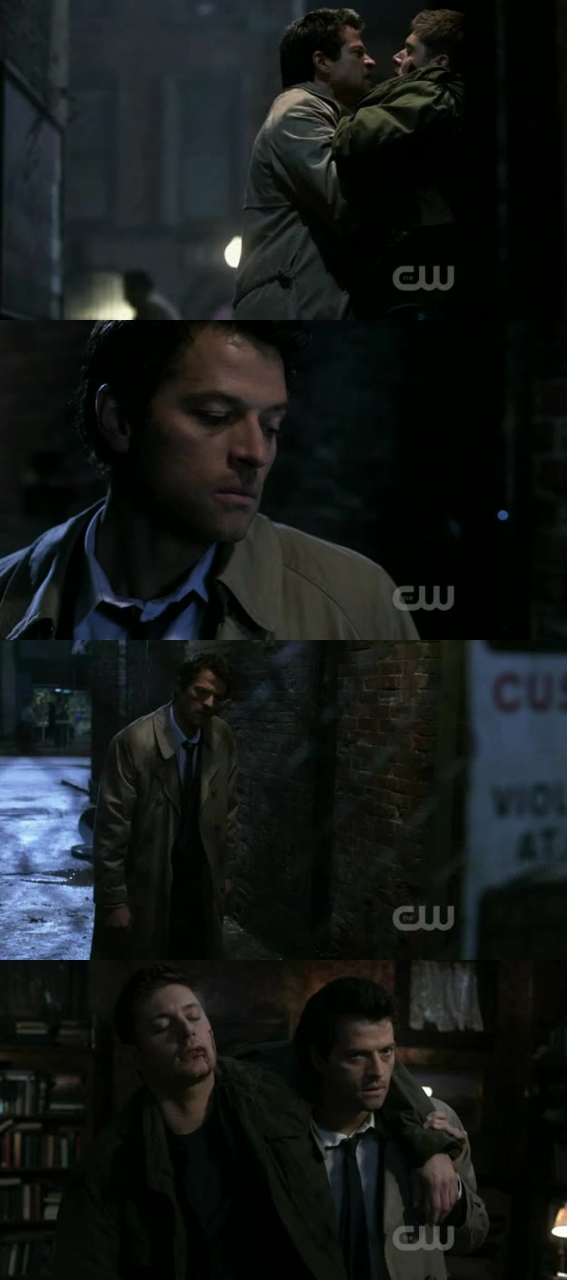 Angry Castiel👀