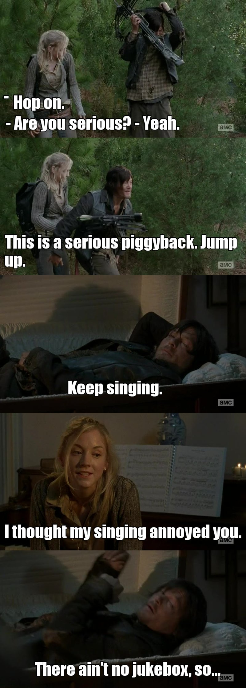 Daryl is so funny and cute at the same time, how can someone not love him ?