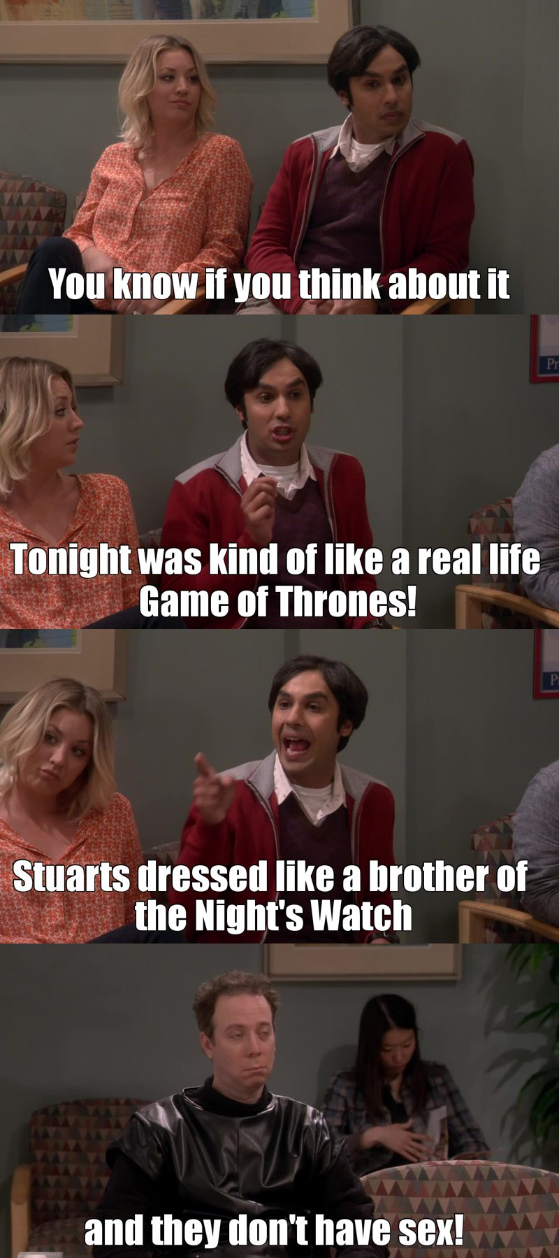 Loved the Game of Thrones references in this episode! 😂