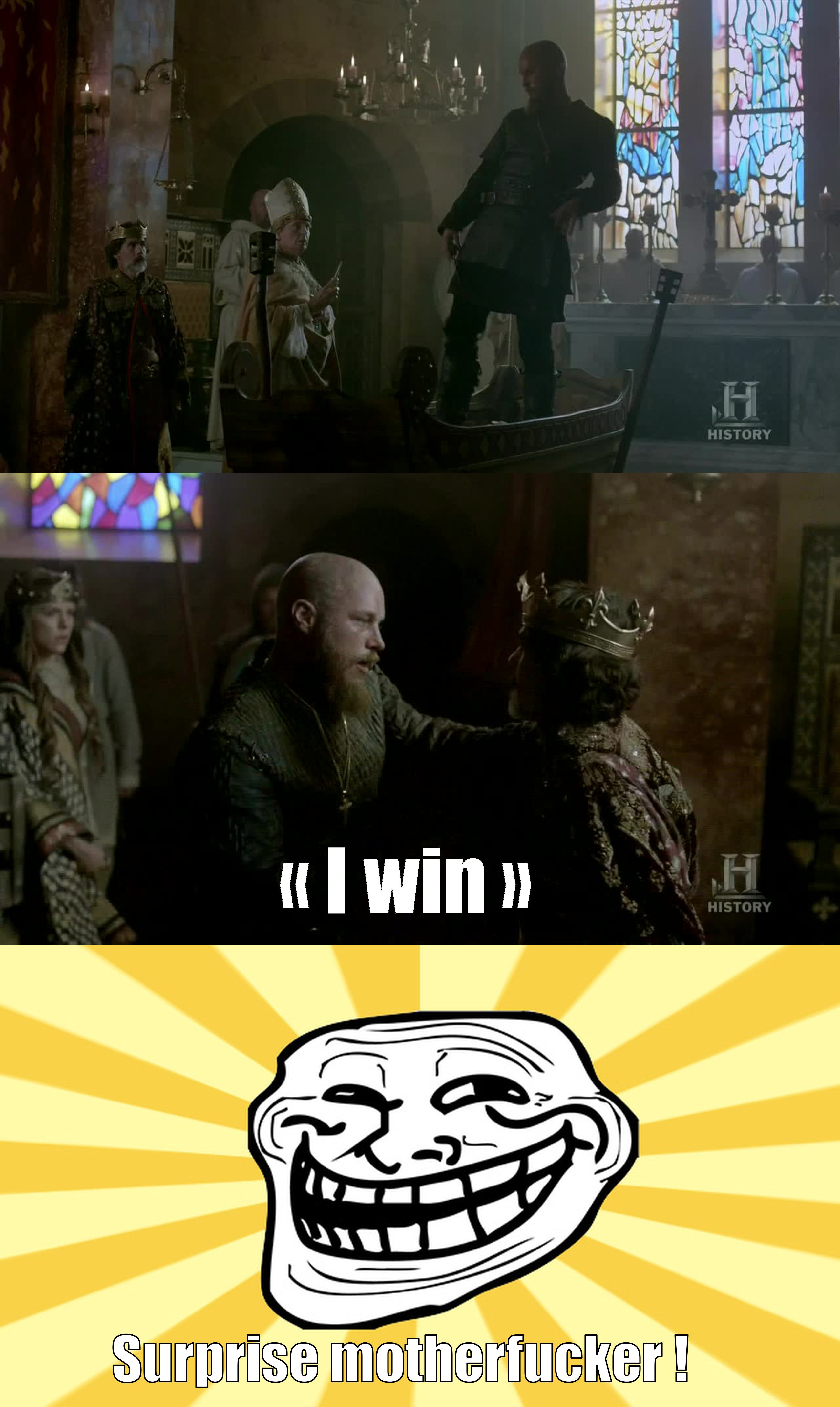 DAMN ! That was purely epic. Ragnar, that's how I love you