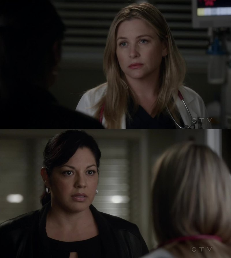 After one week, I'm still with Arizona.  I'm so sad for the situation because i really love Callie, but She's lost herself..