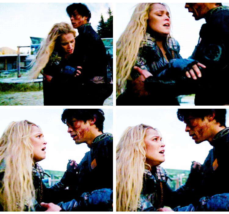 BELLAMY BLAKE PROTECTING THE LOVE OF HIS LIFE