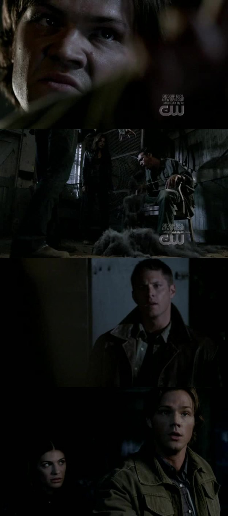 The moment when you understand that sam is in a bad situation.