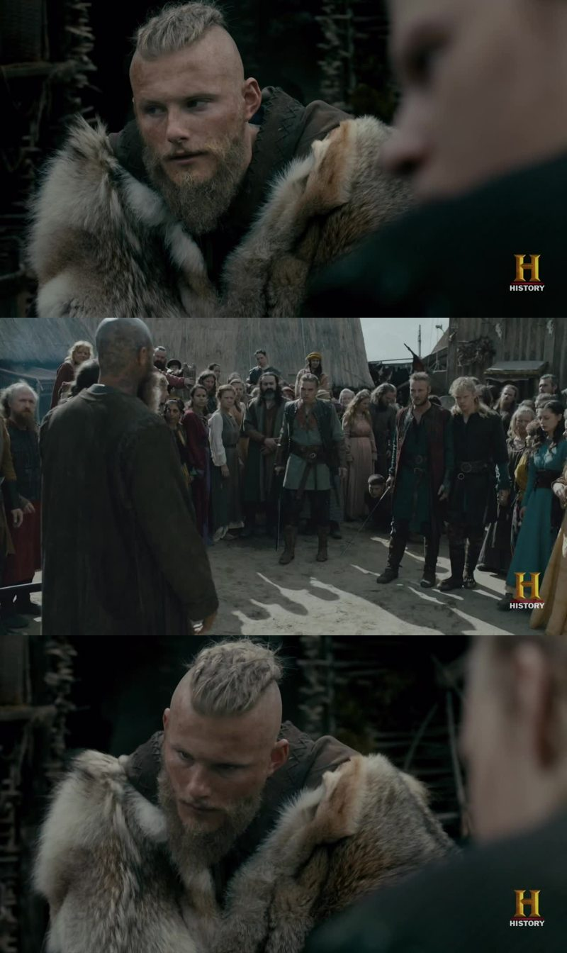 Can we all agree that Bjorn is Ragnar's best son?