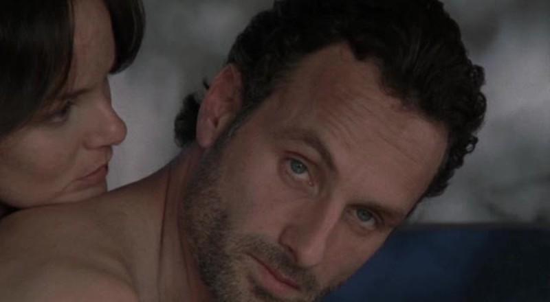 That moment when you know Rick's gonna kick up some ass