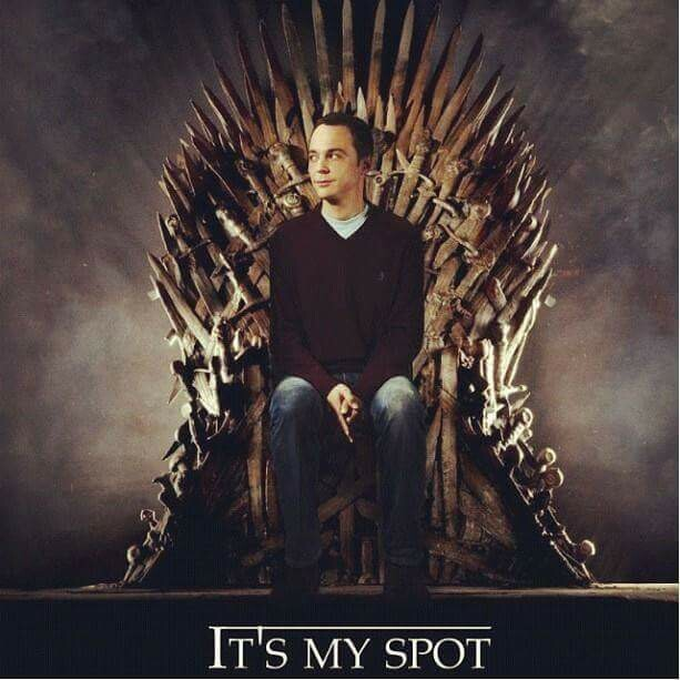 When The Big Bang Theory meets Game of Thrones