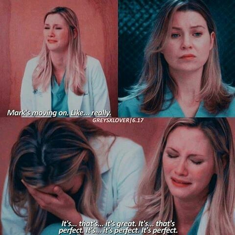 Poor Lexie. I knew that she was still in love with Mark. And he is in love with her too.  They love each other. Neither Lexipedia nor McSteamy deserve to be apart from each other.  #SlexieForever#CuteCouple
