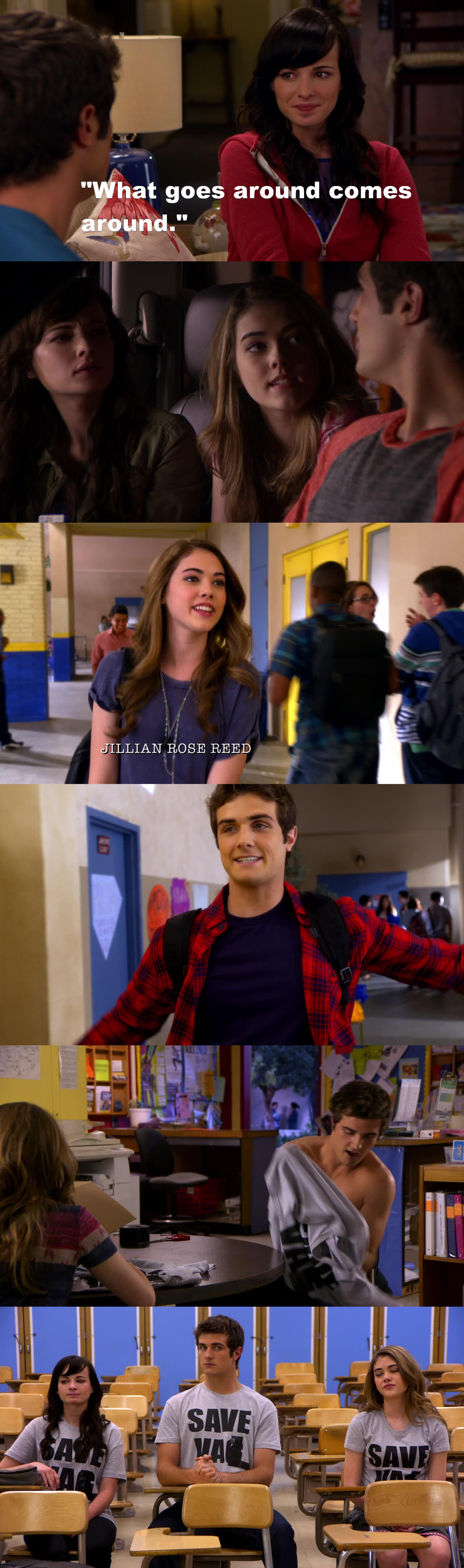On l'a vu venir pendant tout l'épisode ! Matty se ressaisit !!! Tu l'as mérité Jenna !