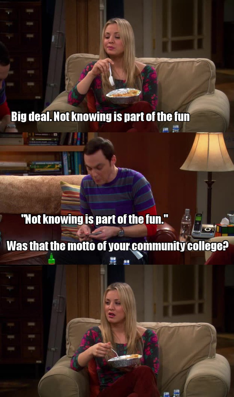 Epic Sheldon!