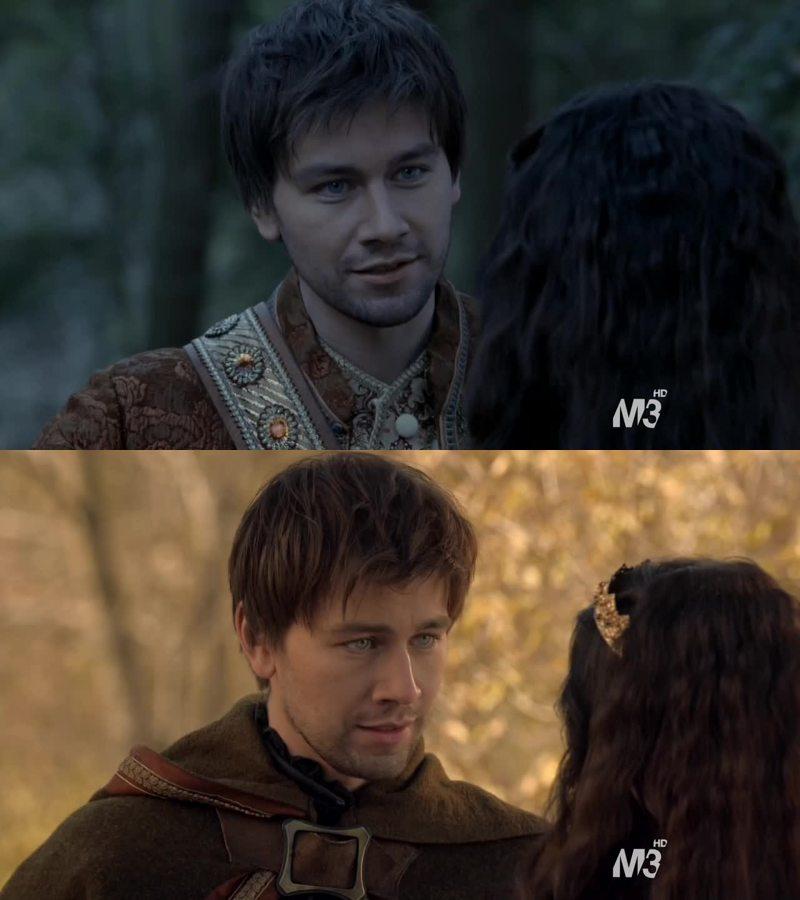 I want a man who looks at me like Sebastian looks at Mary.