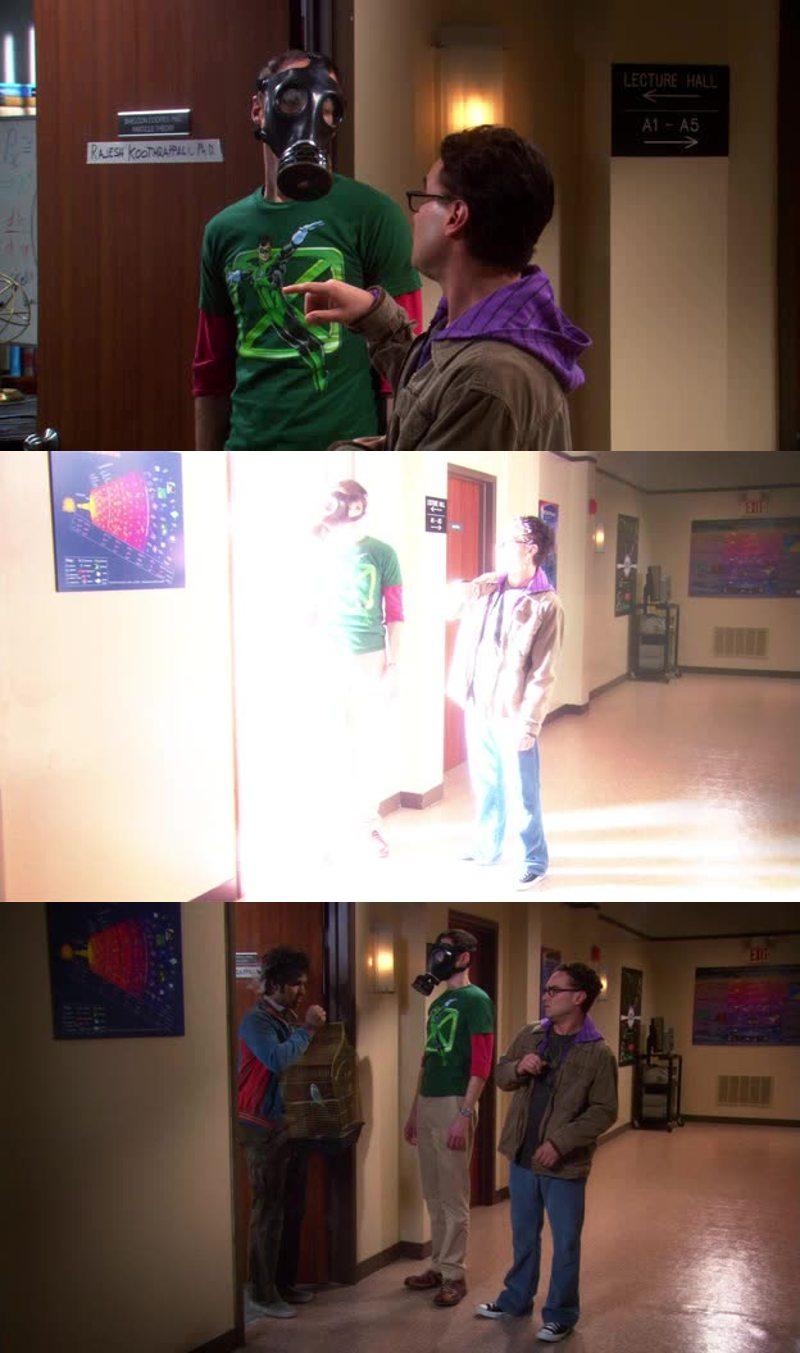 Sheldon e i metodi cortesi per cacciare i collaboratori dal suo ufficio: