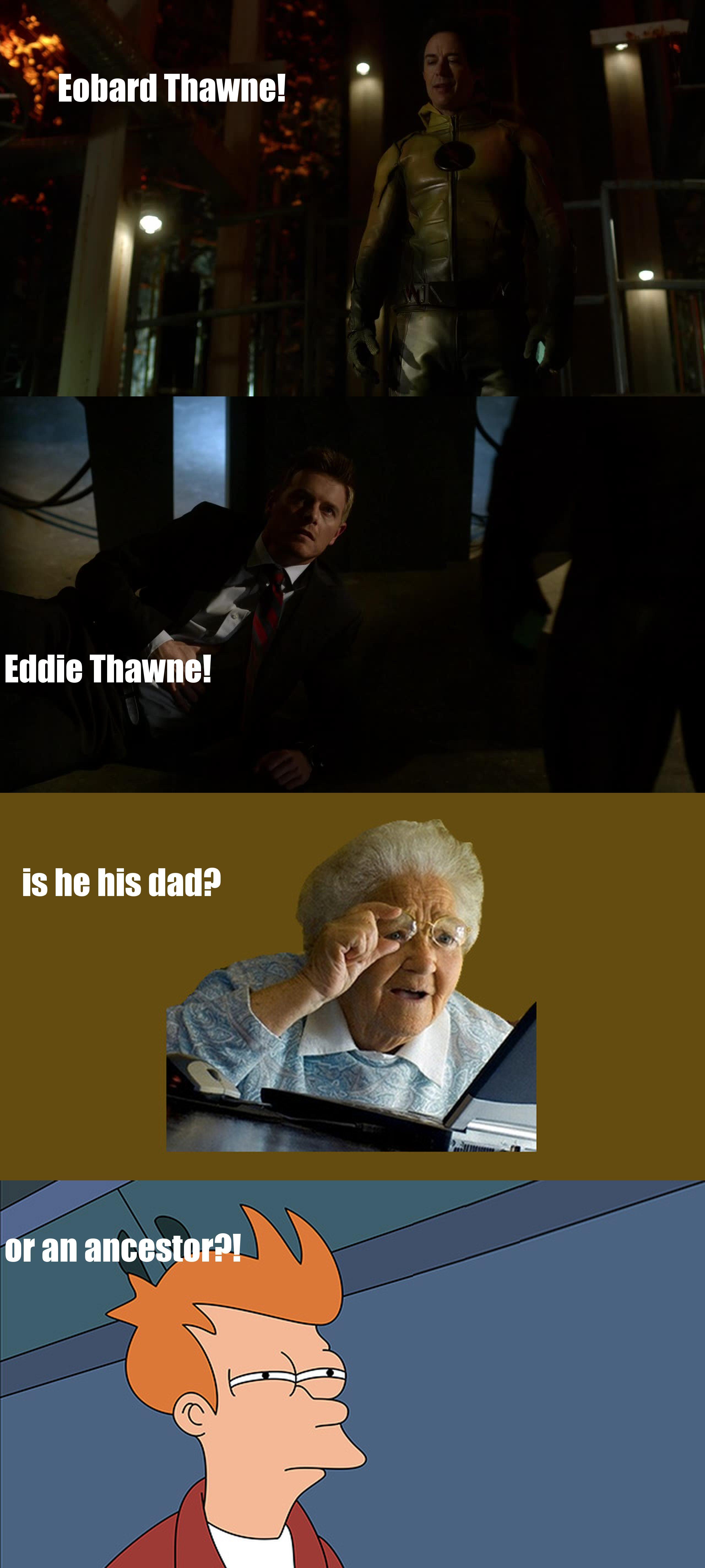 Thawne mystery!
