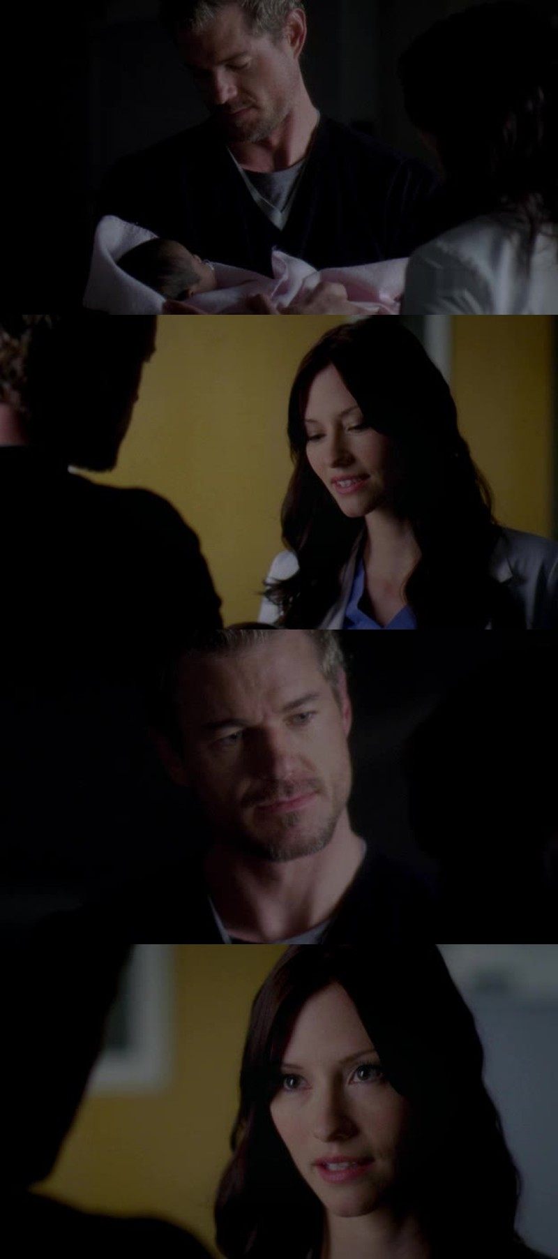 Find someone who looks at you the way Mark Sloan and Lexie Grey look at each other