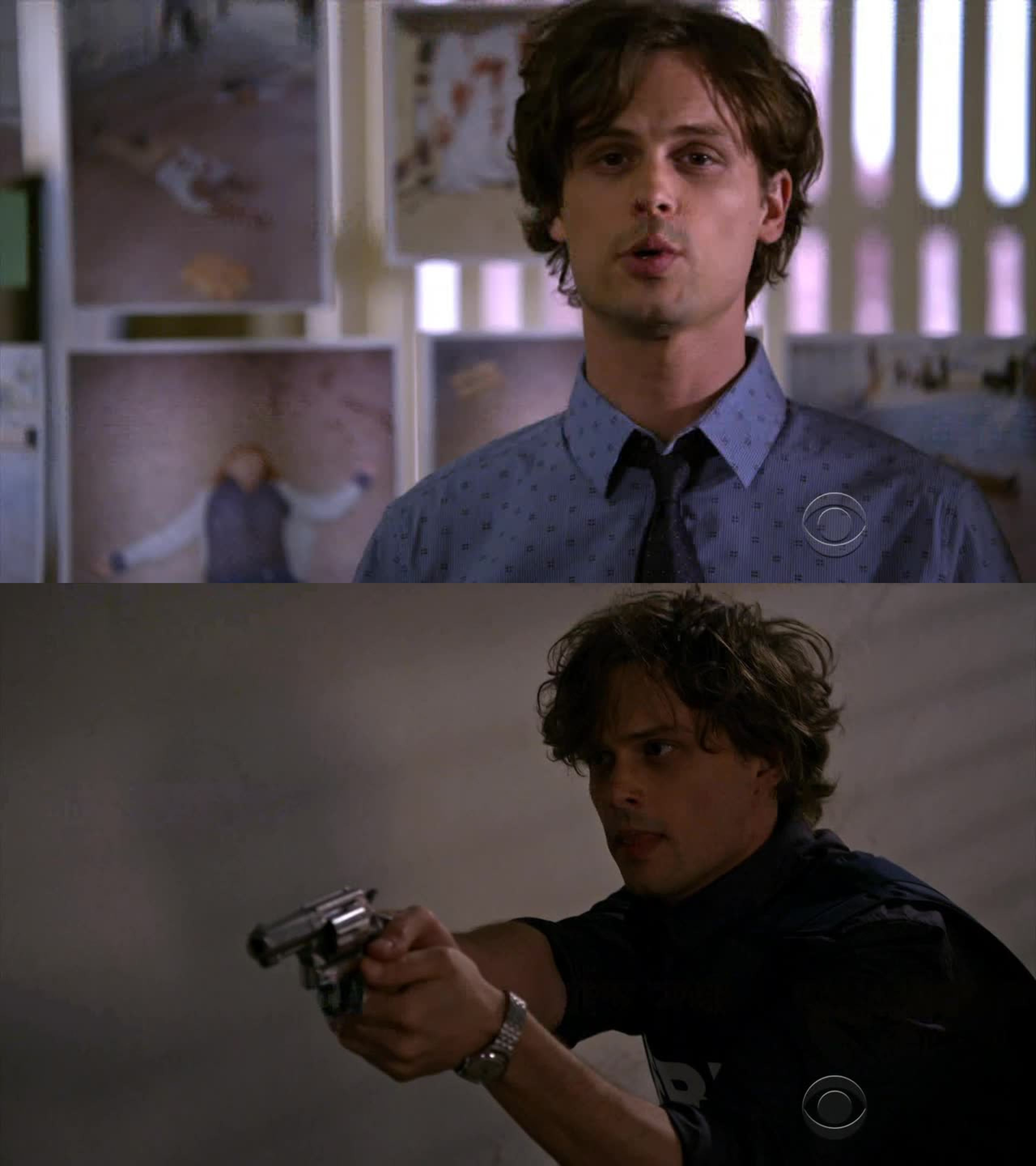 """Why do you watch criminal minds?"" well..."