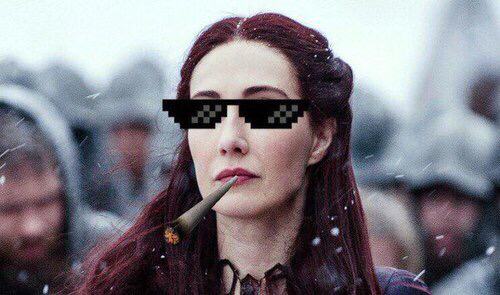 How we all see Melisandre