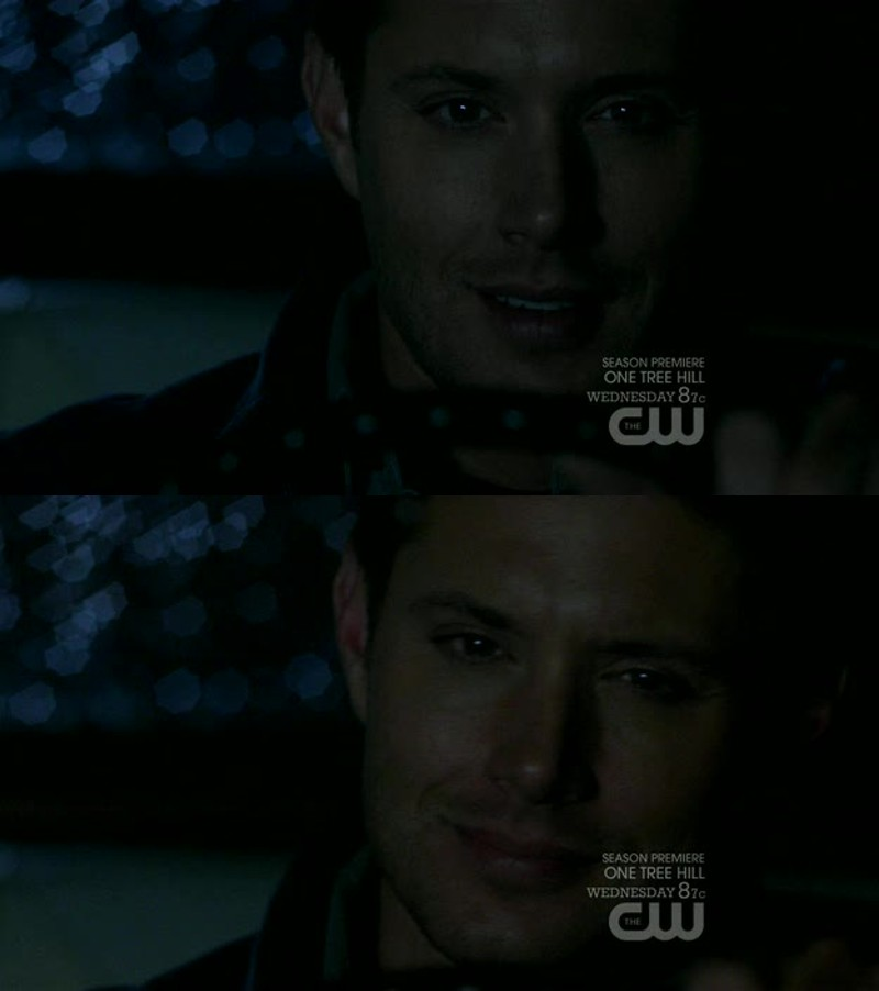 this scene was emotional for me, seeing Dean genuinely smiling again was amazing