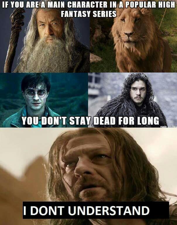 Poor Ned.