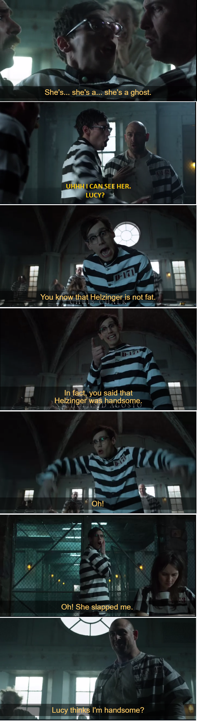 This scene is the reason I do love Nygma!  So great!!!