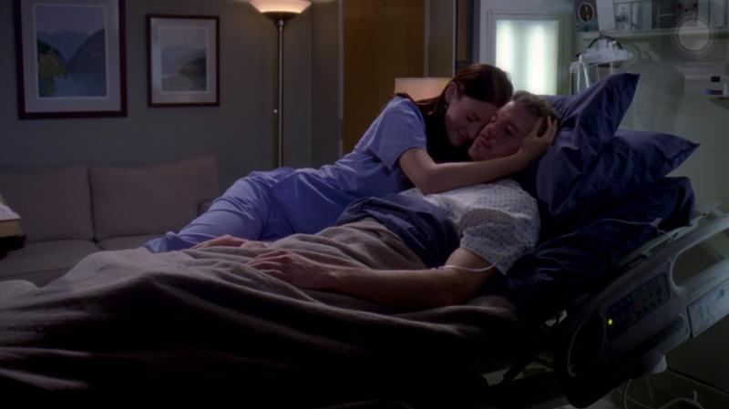 Que episódio.....Emocionante!!!A cena da execução do William foi muito triste 😭😞,e a cena mais fofa do de Lexie e Mark(nunca pensei ver o Mark vuneravel daquele jeito!!)