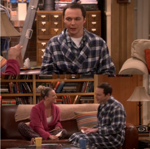 """Sheldon watching Penny's card:  -Sheldon: Kardashian. -Penny: More specific? -Sheldon: Khloé? -Penny: Yees! -Sheldon: See? I remember because if it looks like Kim, it's Kim. If it looks kinda like Kim, it's Kourtney. And if it looks nothing like Kim, it's Khloé.  Penny watching Sheldon's card:  -Penny: Oh, that's a Venn diagram. And I remember because I thought to myself: """"Venn is he gonna stop talking about this diagram"""".  :'D"""
