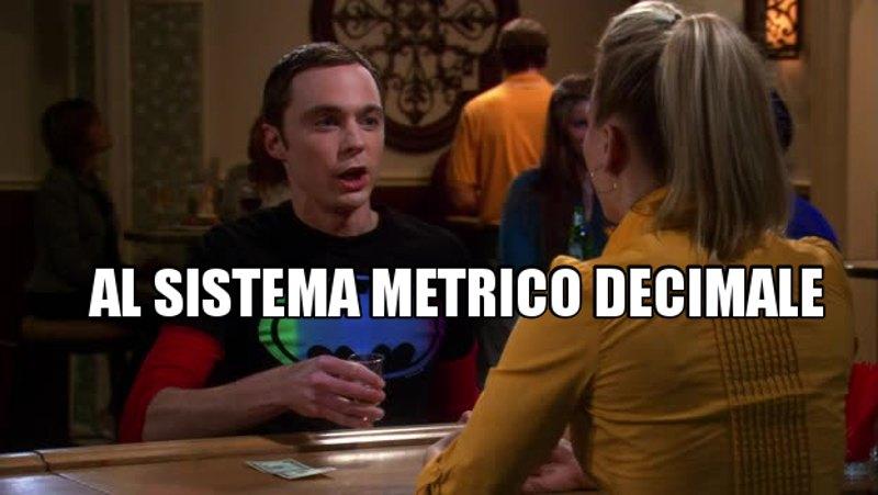 I brindisi di Sheldon: