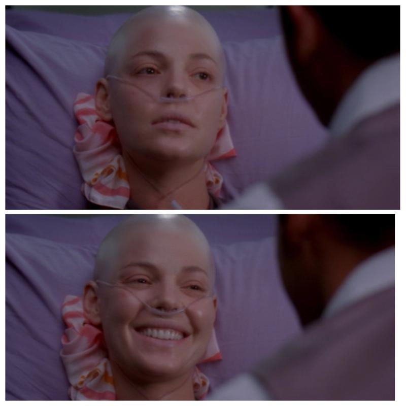 """""""Minha mulher é linda""""  Esse episódio foi muito emocionante, achei tão linda a atitude da Meredith de deixar o casamento pra Izzie, que queria tanto casar. Ah eu to chorando muito ❤️😭"""