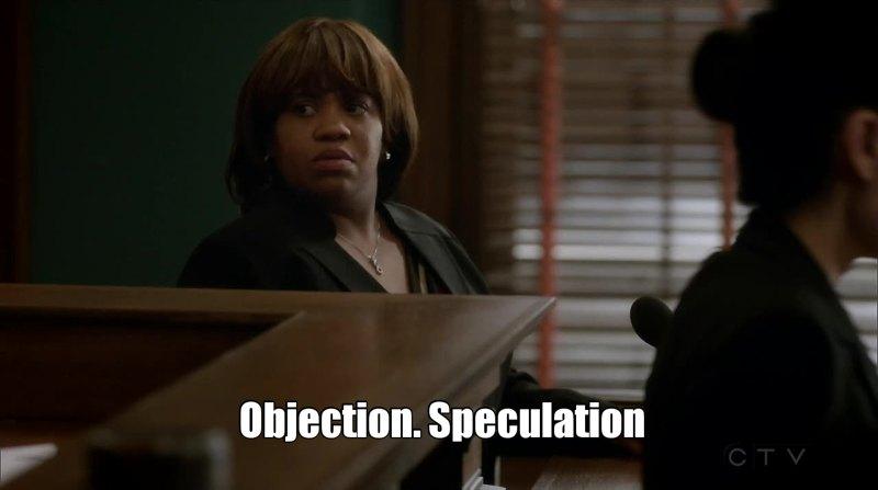 Miranda objecting was everything! 😂😂