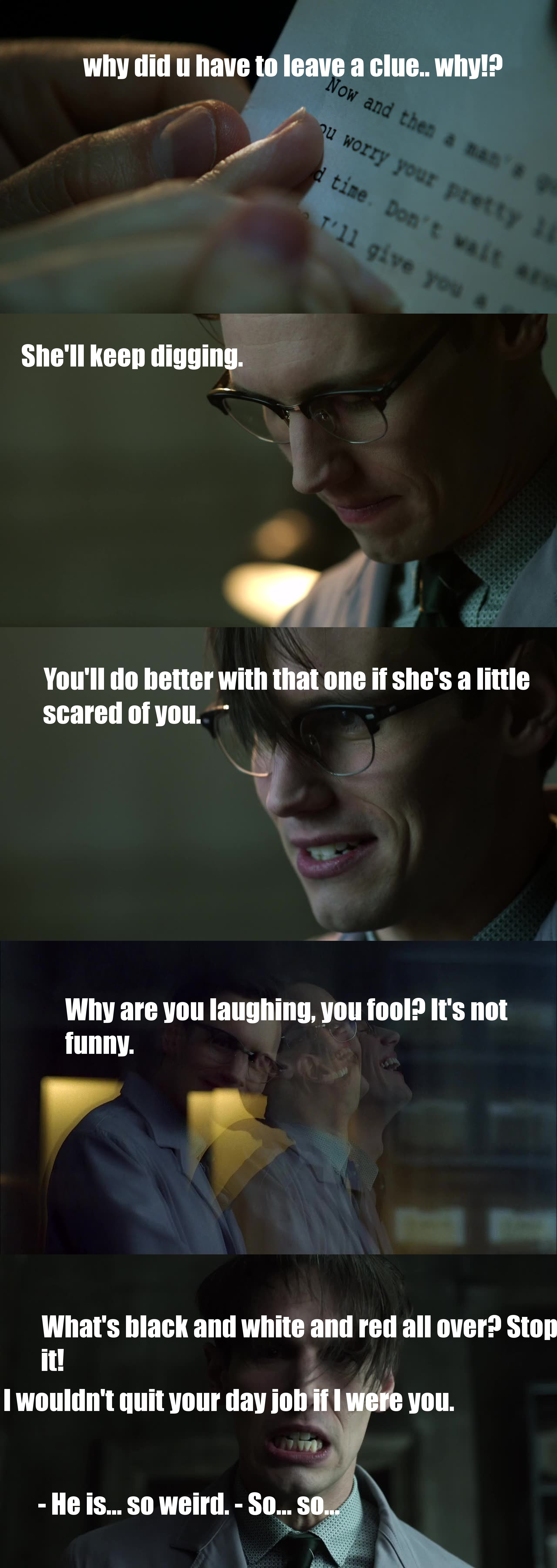 Nygma's moment was priceless!