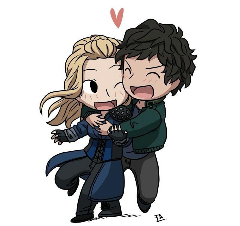Clarke & Bellamy ❤