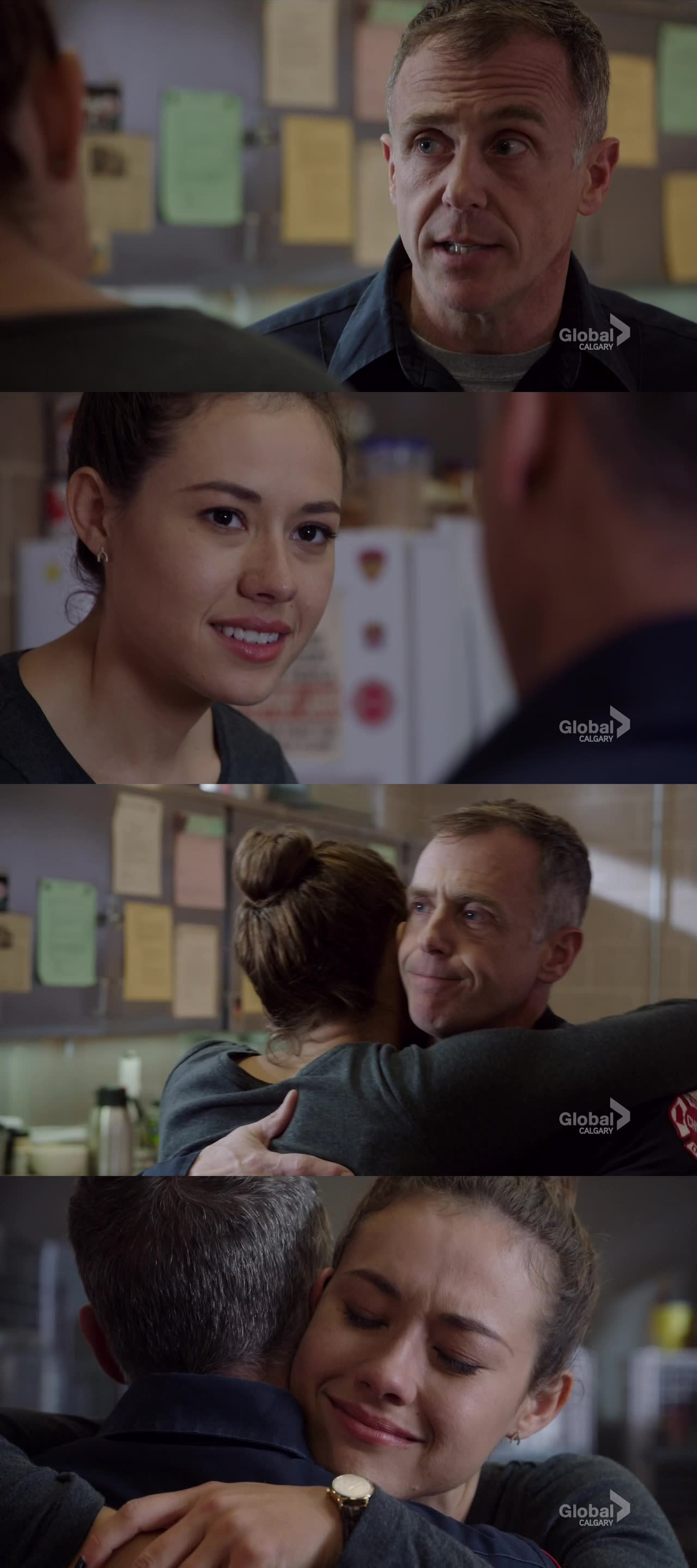 I would love to see a father/daughter relationship growing up between the two of them!