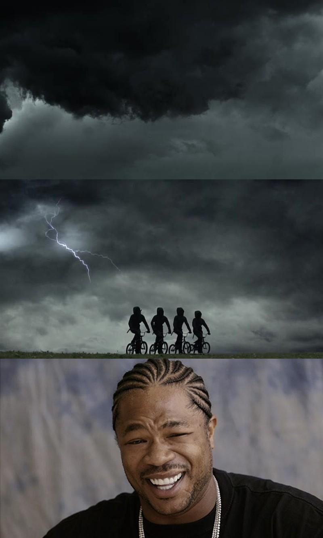 4 bikers of the apocalypse