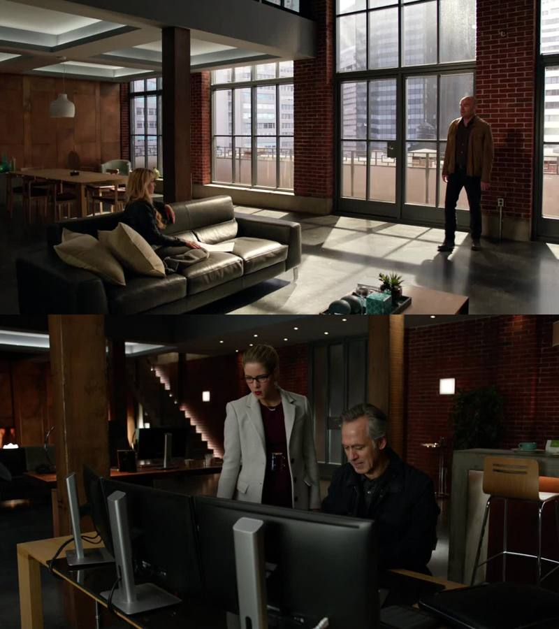 Whose freaking home is this? It was Malcolm's at the beginning but then he left it to Thea. And then Thea invited Oliver to stay with her. Then somehow Oliver invited Felicity there too and Thea disappeared. But then they broke up and Felicity moved out. And now Captain Lance has keys? Felicity doesn't live there anymore, right? So why her entire family and Captain Lance just hang out there?! WTF!?