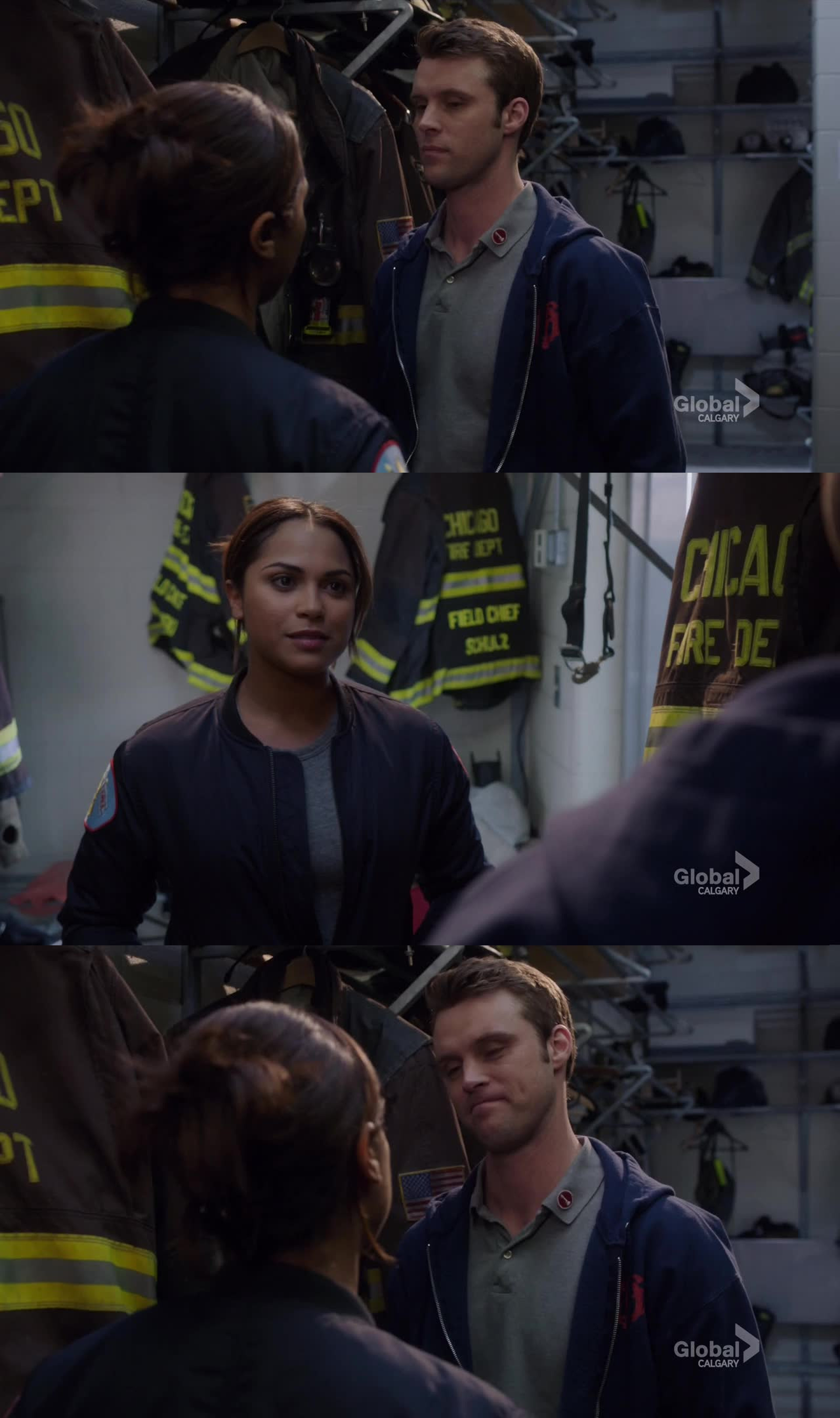 This scene was so cute :))  I'm quite sure the big cliffhanger for the season finale will be Dawson telling Matt she's pregnant. Maybe I'm wrong, What do you think of that?