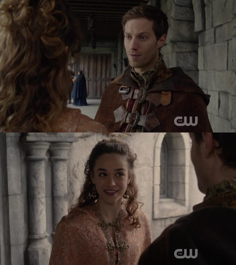 These two are one of the few reasons that make me wanna watch Reign.