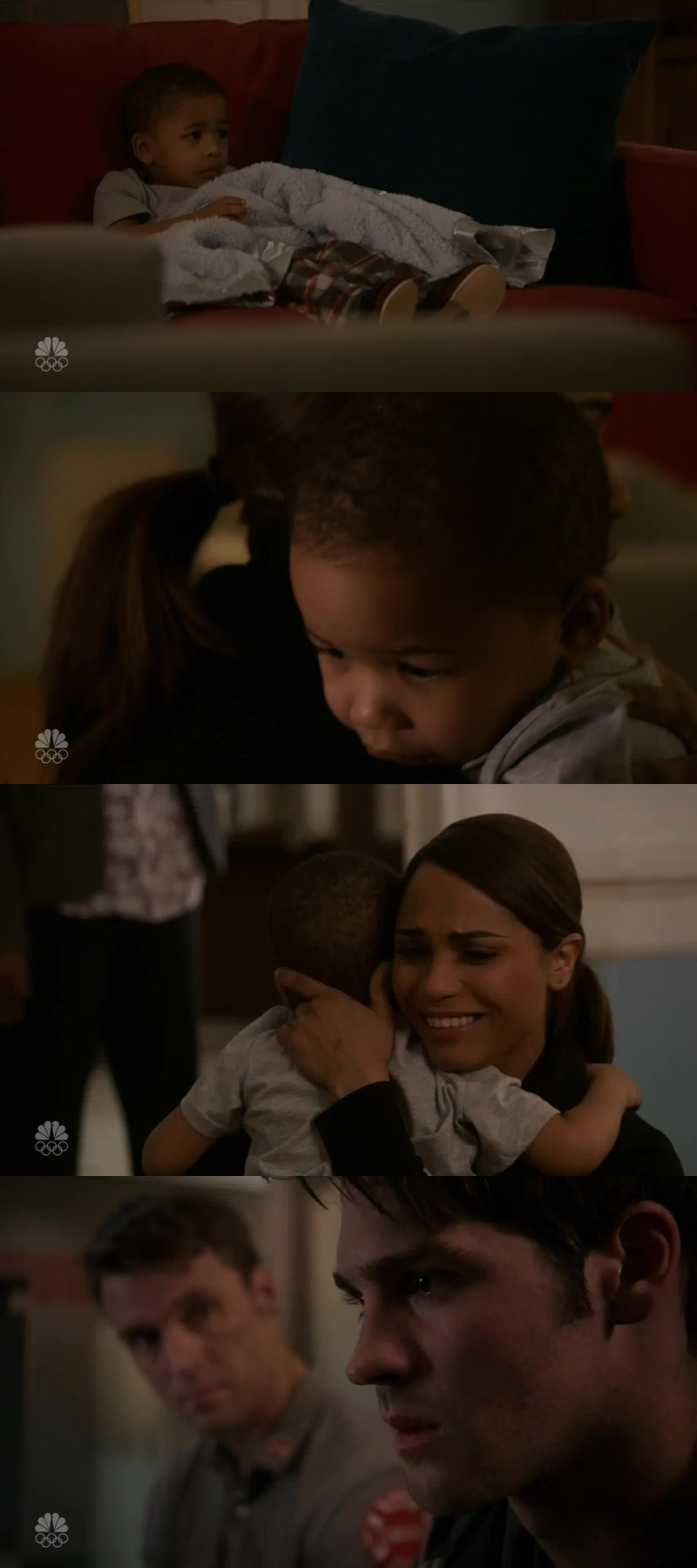 That was such a lovely mommy hug!! Simply B E A U T I F U L!!  #Dawson&Louie  Poor Jimmy...😰 so brutally sad😔