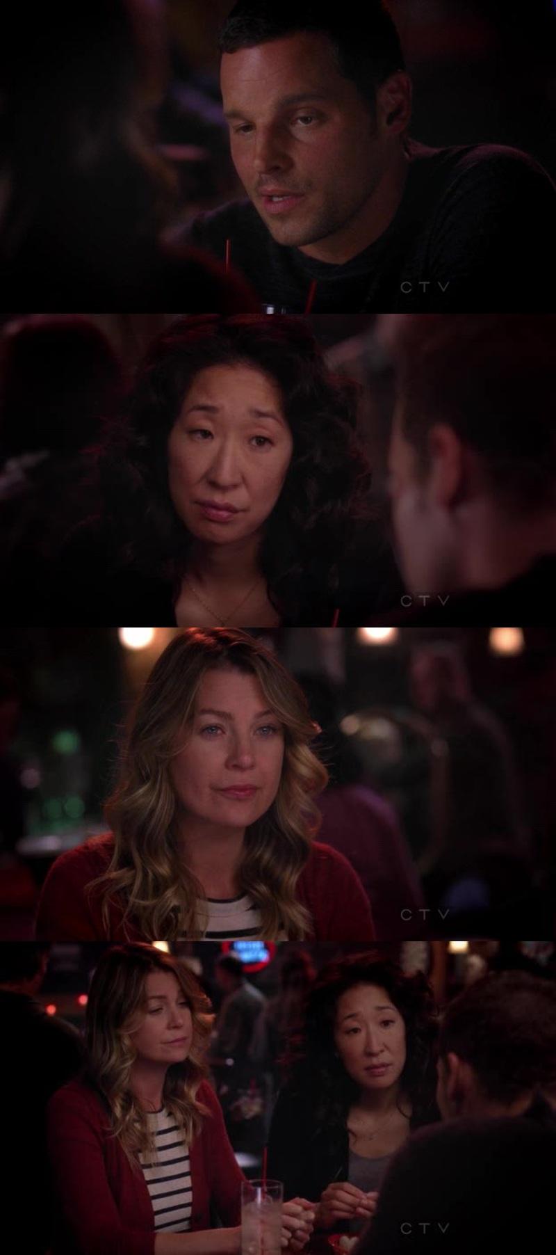 """""""Se ele estivesse vivo estaria superando todos nós"""" """"O george morreu e a izzie foi embora e todos mudamos...todos estamos diferentes..."""" 😕"""