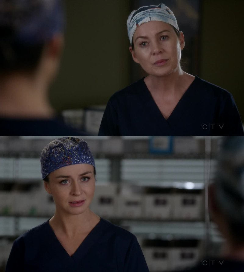 I can't stand Meredith anymore. The speech that she made to Amelia was mean! What happened to you, Mer?
