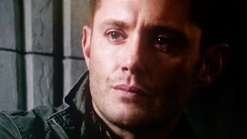 A crying Dean Winchester makes my heart melt ❤❤❤