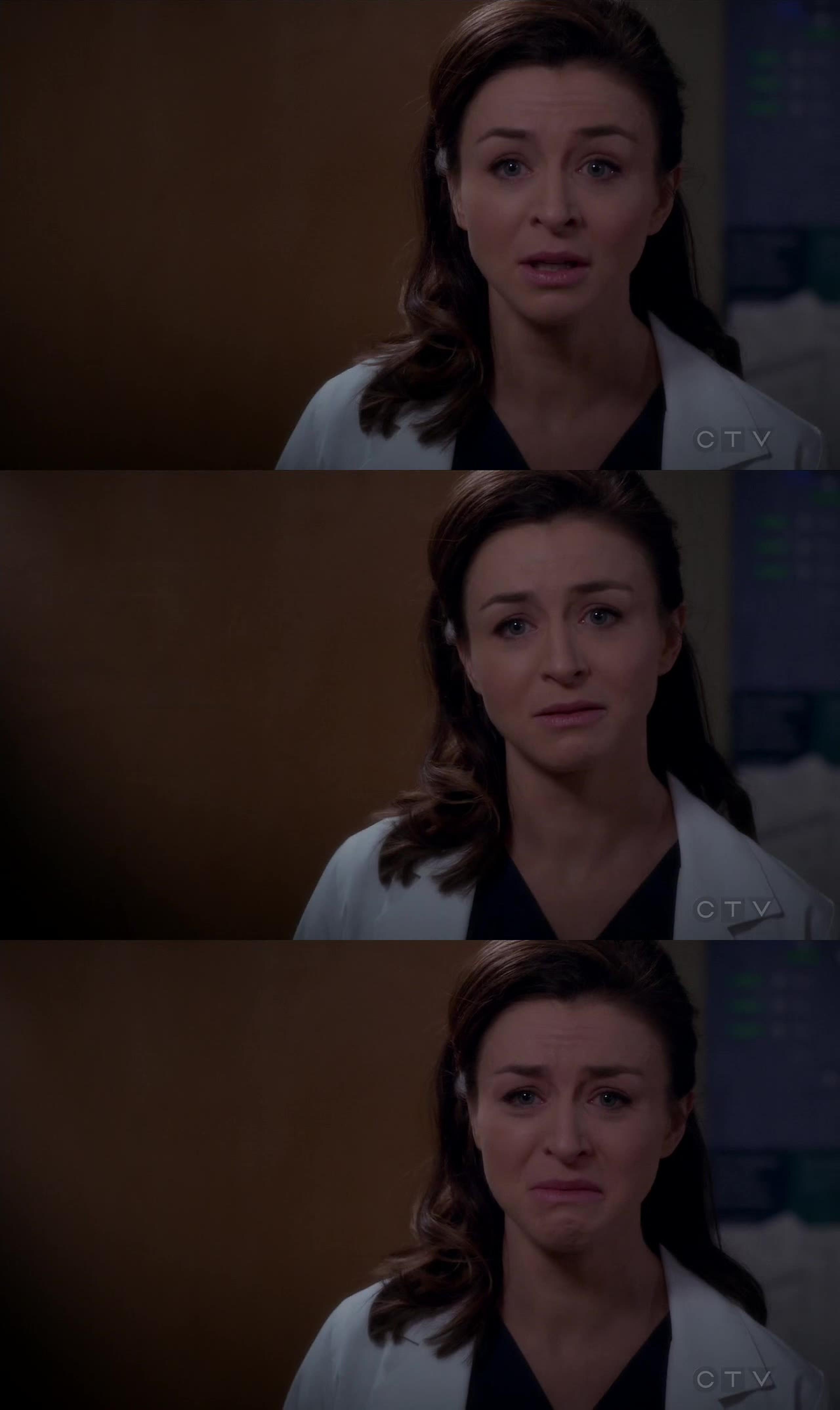 """""""I didn't get to see him, I didn't get to tell him goodbye."""" Amelia Shepherd. And I'm dehydrated!"""