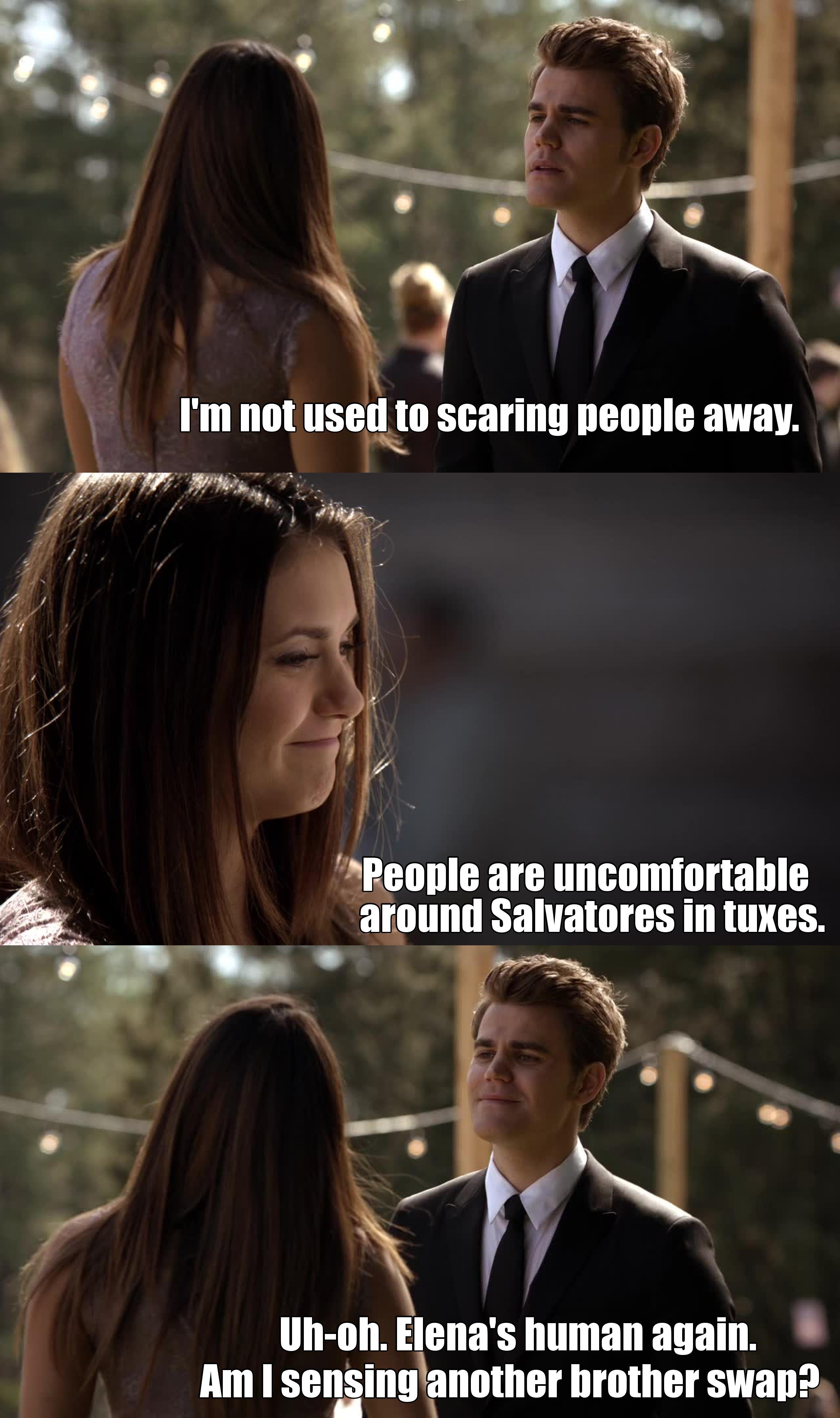 Stefan's humor LOL