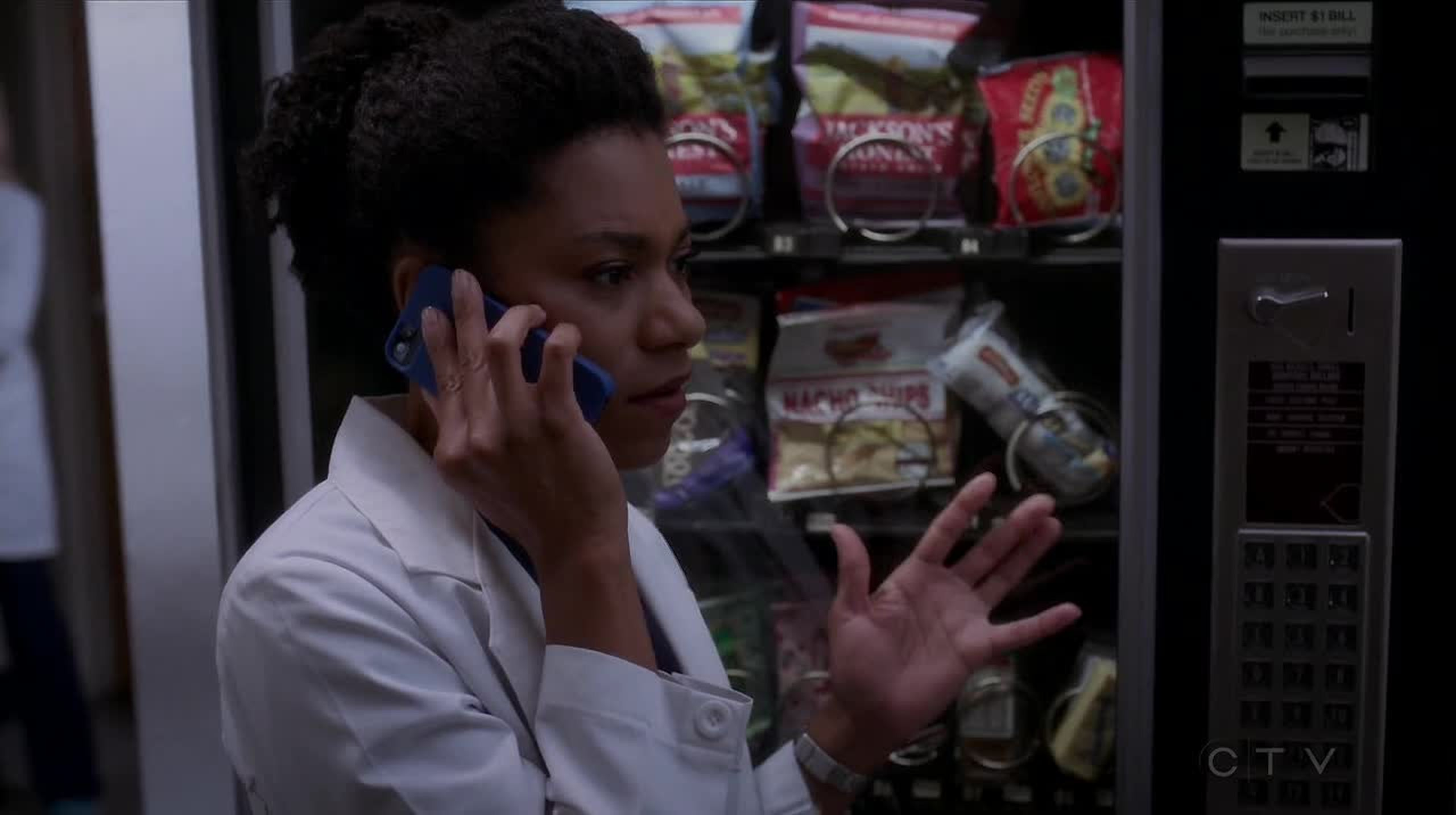 What happened to Maggie during that phone call?